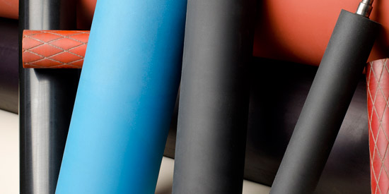Vinoprene in Printing Rolls